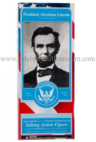 Abraham Lincoln Toy President doll box