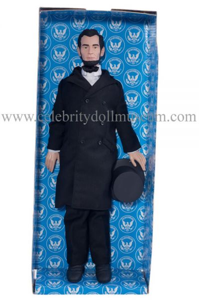 Abraham Lincoln Toy President doll box insert