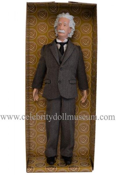 Albert Einstein talking doll box insert