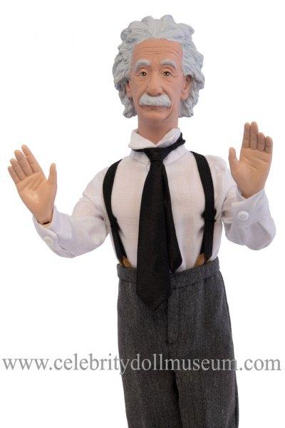 Albert Einstein talking doll