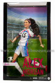 Alex Morgan doll box