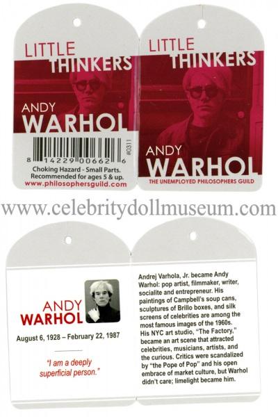 Andy Warhol doll