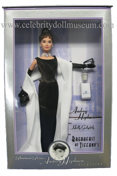 Audrey Helburn doll box front