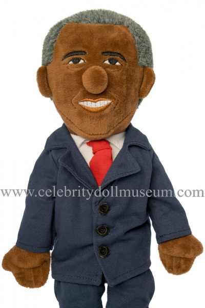 Barack Obama plush doll