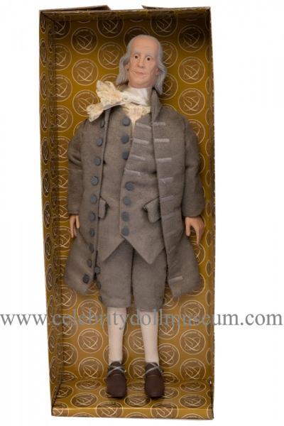 Benjamin Franklin talking doll box insert