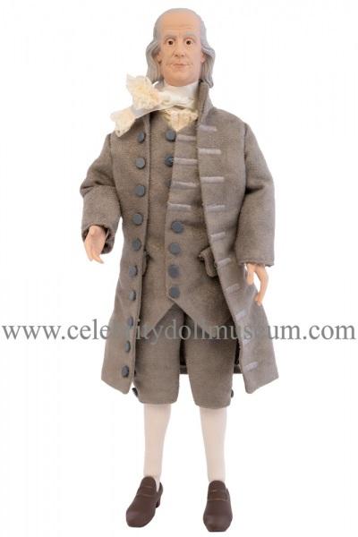 Benjamin Franklin talking doll