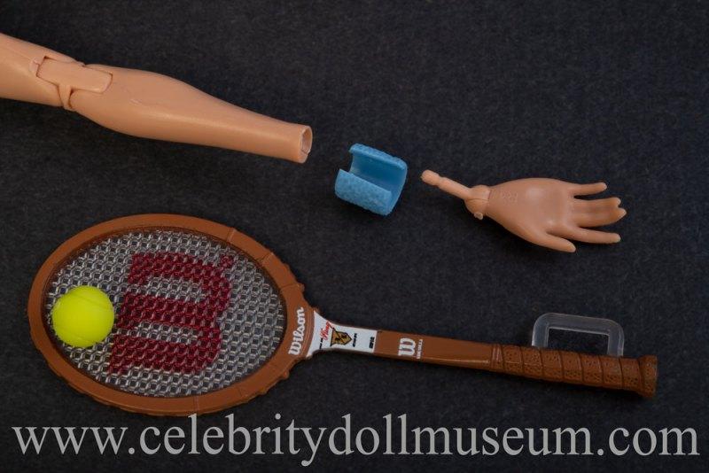Billie Jean King doll accessories
