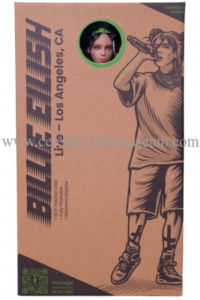 Billie Eilish Doll - LA box