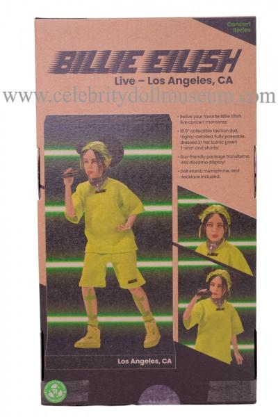 Billie Eilish Doll - LA box back