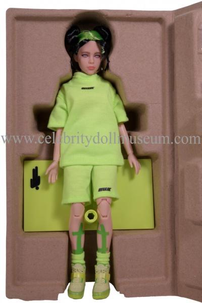 Billie Eilish Doll - LA box insert open
