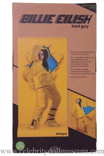 Billie Eilish Doll -Bad Guy box back