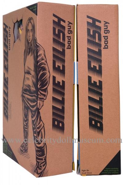 Billie Eilish Doll -Bad Guy box sides
