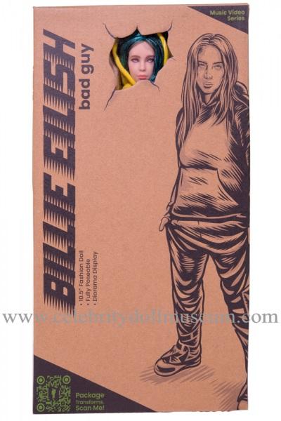 Billie Eilish Doll -Bad Guy box front