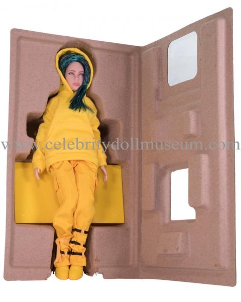 Billie Eilish Doll -Bad Guy box inser