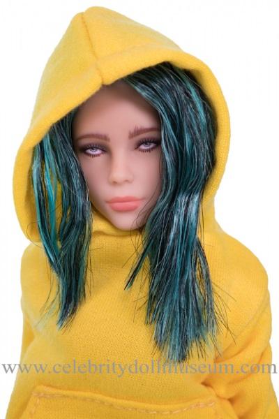 Billie Eilish Doll -Bad Guy