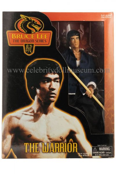 Bruce Lee action figure box front