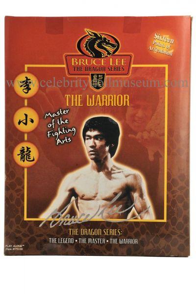Bruce Lee action figure box back