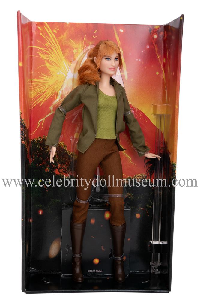 Bryce Dallas Howard (Jurassic World) doll box insert