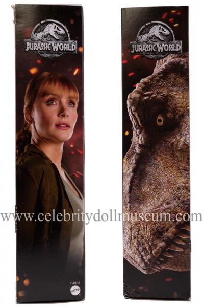 Bryce Dallas Howard (Jurassic World) doll box sides
