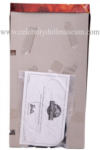 Bryce Dallas Howard (Jurassic World) doll box insert back