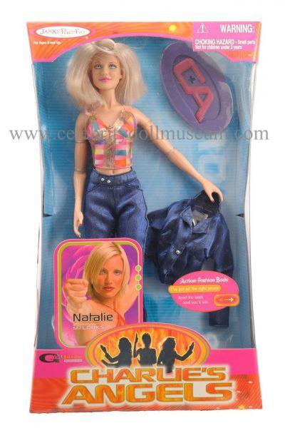 Cameron Diaz doll box front