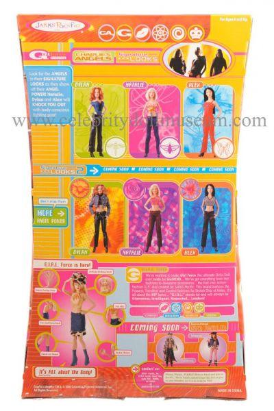 Cameron Diaz doll box back