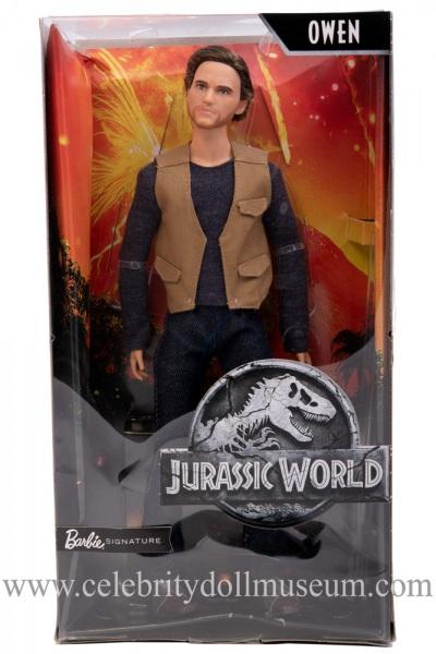Chris Pratt (Jurassic World) action figure box front