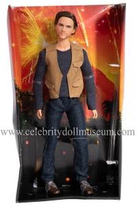 Chris Pratt (Jurassic World) action figure insert