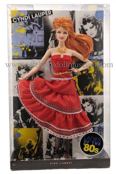 Cyndi Lauper doll box front