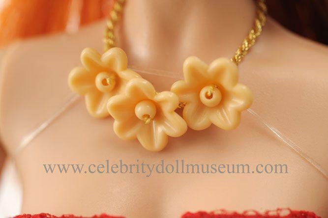 Cyndi Lauper doll necklace