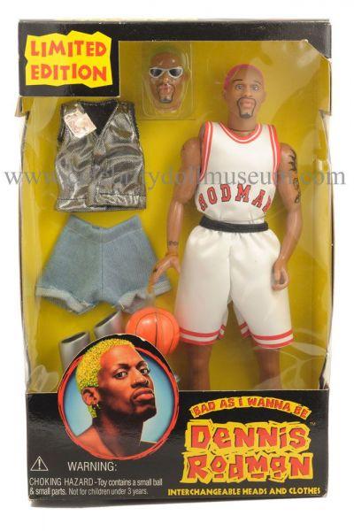 Dennis Rodman doll in box