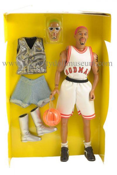 Dennis Rodman doll box insert