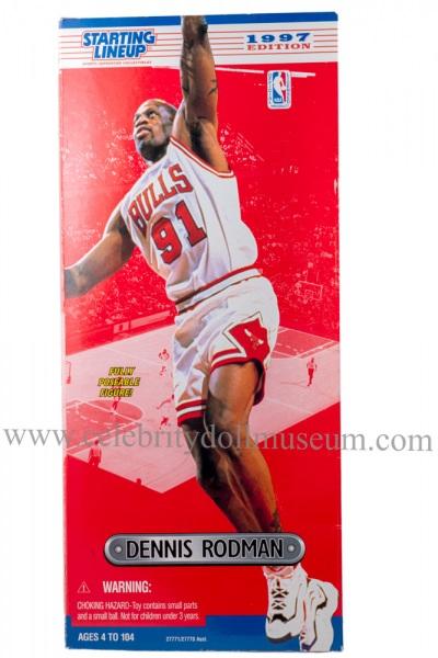 Dennis Rodman Action Figure Box Front