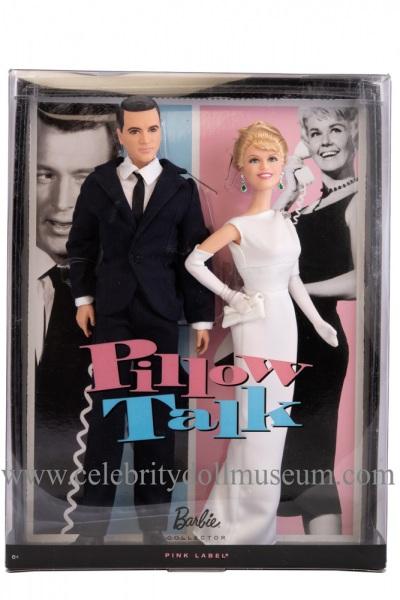 Doris Day and Rock Hudson dolls box
