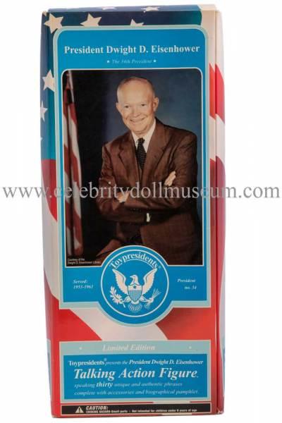 Dwight D Eisenhower Talking doll box front