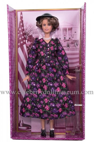 Eleanor Roosevelt doll box insert
