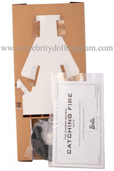 Elizabeth Banks doll box insert back