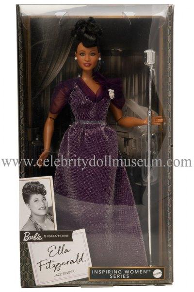 Ella Fitzgerald doll box