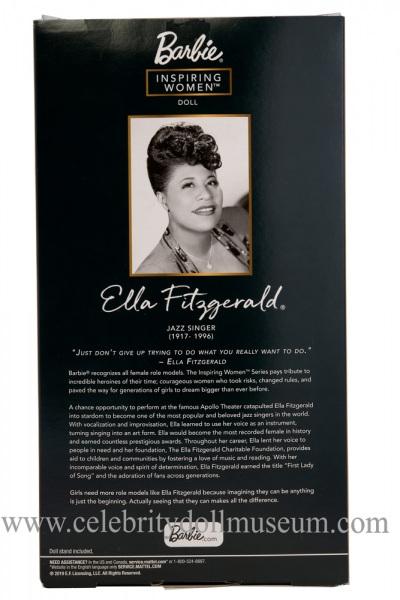 Ella Fitzgerald doll box bacj