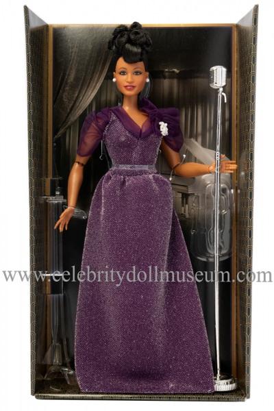 Ella Fitzgerald doll box insert