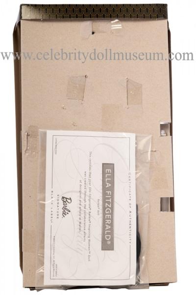 Ella Fitzgerald doll box insert back