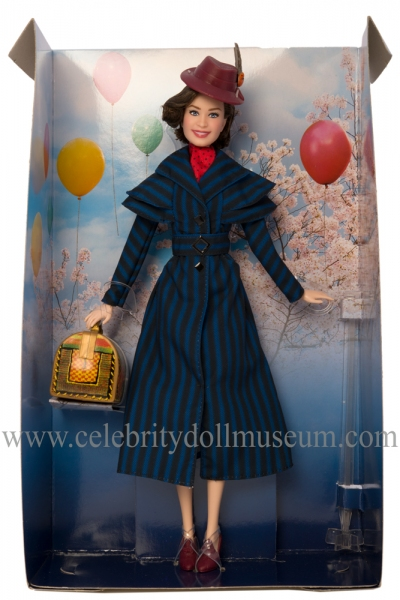 Emily Blunt doll box insert