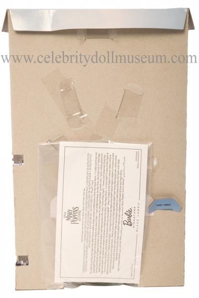 Emily Blunt doll back of box insert