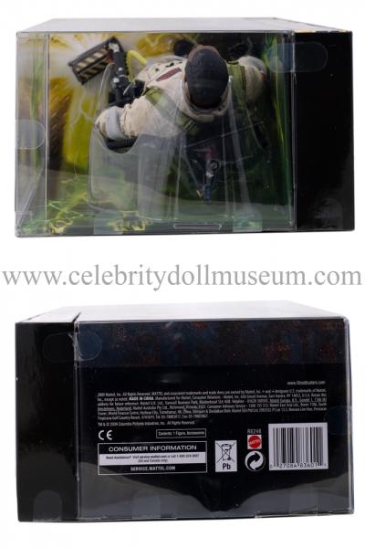 Ernie Hudson doll box top and bottom