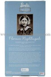 Florence Nightingale doll boxk back
