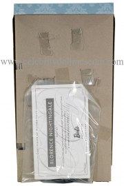 Florence Nightingale doll box insert back