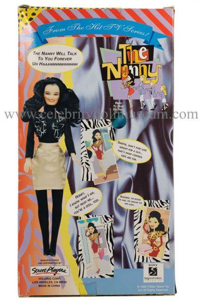 Fran Drescher doll box back