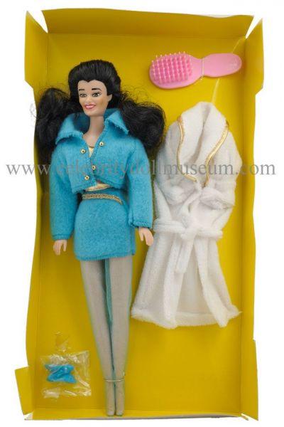 Fran Drescher doll box insert