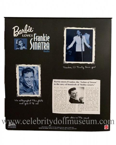 Frank Sinatra Doll Box Back