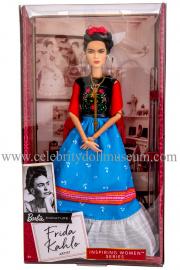 Frida Kahlo doll box